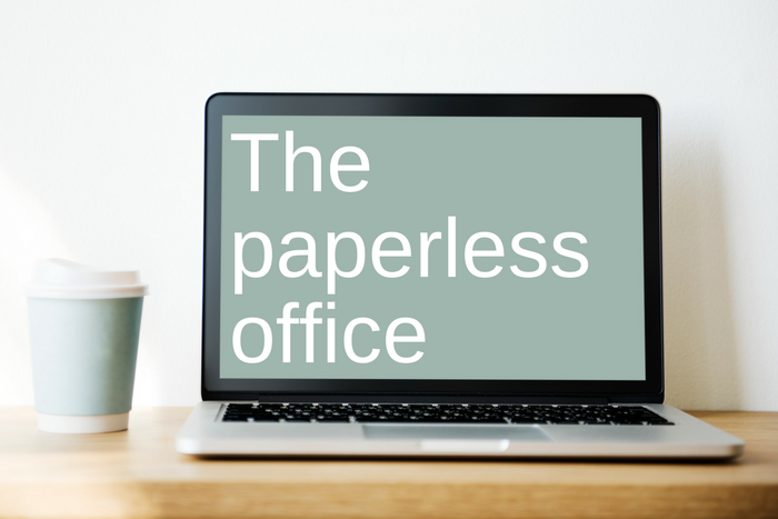 The Paperless office and the role of the digital signature