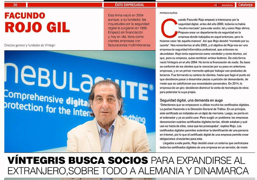 El Economista, entrevista a Facundo Rojo, director executiu de Víntegris