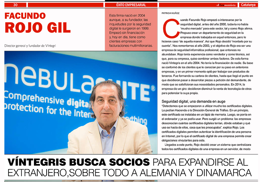 Business Success: Facundo Rojo, founder and CEO of Víntegris.