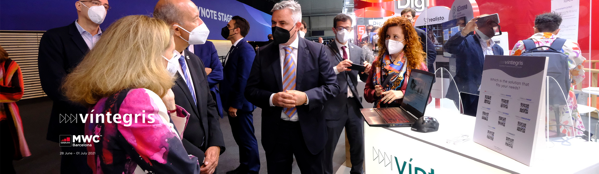 Víntegris introduces at MWC 2021 its solutions to guarantee the evidential validity of digital identity processes