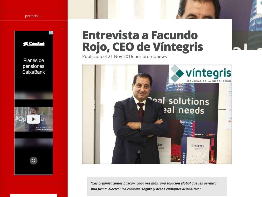 Interview to Facundo Rojo, Víntegris CEO