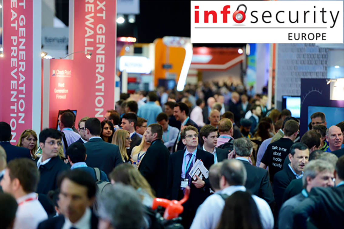 Excellent reception to Víntegris solutions at Infosecurity Europe